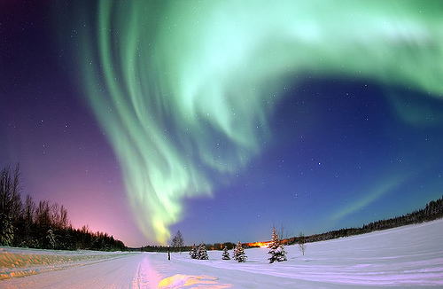 Stunning Colors in Northern Lights